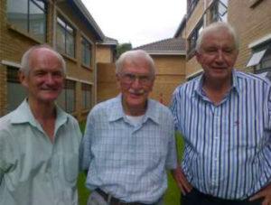 Three old friends